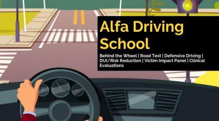 alfa driving school
