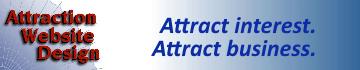 attraction website design