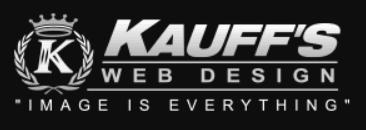 kauffs website design
