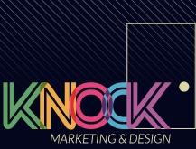 knock marketing and design