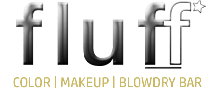fluff color | makeup | blowdry bar and bridal salon
