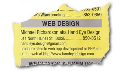 hand eye design