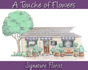 a touche of flowers