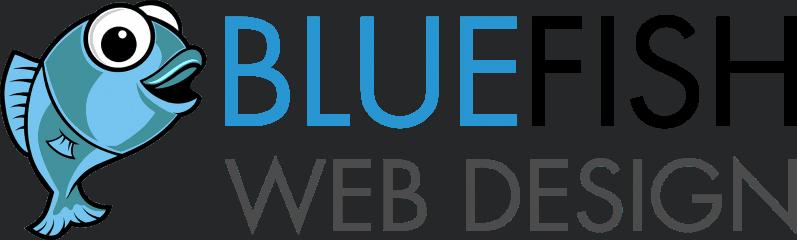 blue fish web design