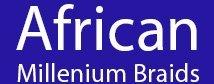 african millennium braids