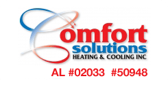 comfort solutions heating & cooling inc
