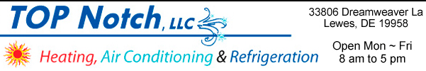top notch heating, air conditioning and refrigeration
