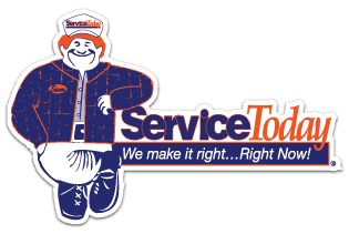 service today heating, air conditioning, plumbing and electrical