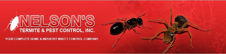nelson's termite & pest control