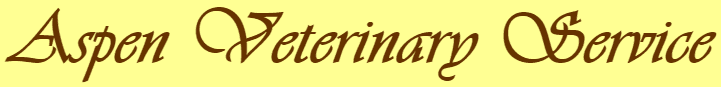 aspen veterinary services