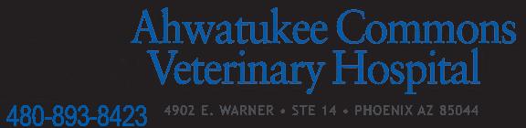 ahwatukee commons veterinary hospital
