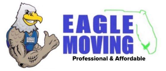 eagle moving