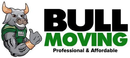 bull moving