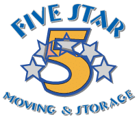 5 star moving and storage