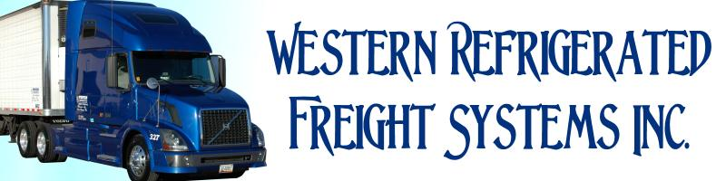 western refrigerated freight
