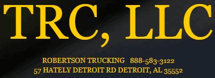 the robertson co, llc dba robertson trucking