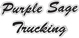 purple sage trucking
