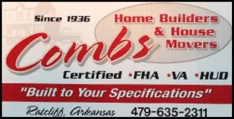 combs home builders & house
