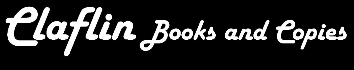 claflin books and copies