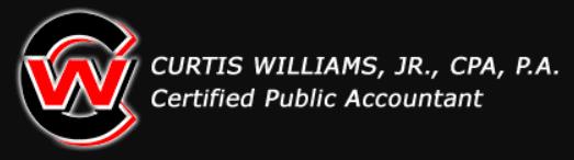 curtis williams jr cpa, pa