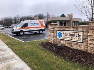 mcgonigle ambulance service