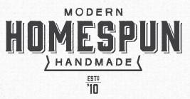 homespun: modern handmade