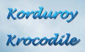 Korduroy Krocodile