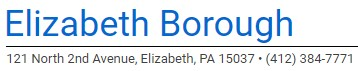 elizabeth boro