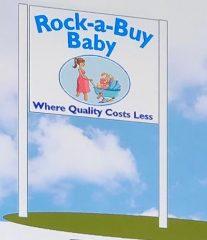 rock-a-buy baby