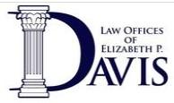 law offices of elizabeth p. davis, p.a