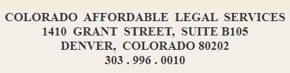 colorado affordable legal services