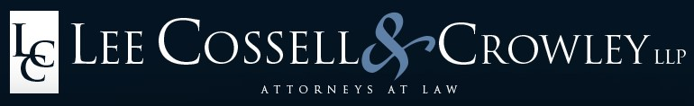 lee cossell & crowley, llp