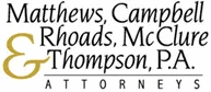 matthews, campbell, rhoads, mcclure & thompson, p.a.
