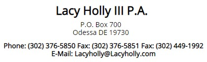 lacy holly law firm