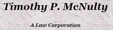 timothy p. mcnulty, a law corporation