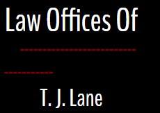 t j lane law offices