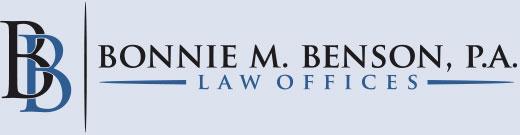 law offices of bonnie m. benson, p.a.