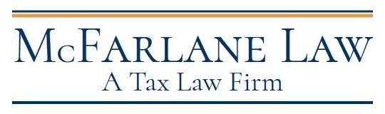 mcfarlane law, plc - your tax law firm