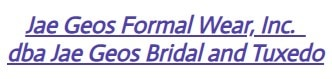 jae-geo's bridal and tuxedo