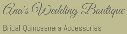 ana's wedding boutique