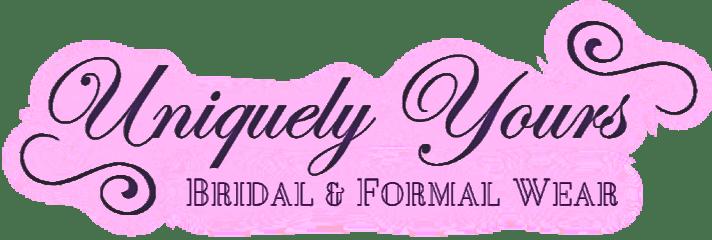 uniquely yours bridal & formal wear