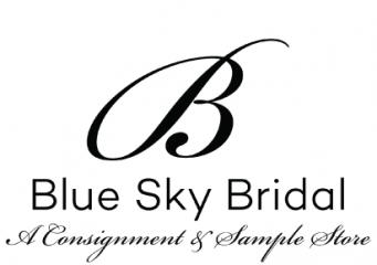 blue sky bridal