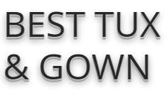 best tux & gown
