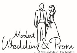 modest wedding & prom