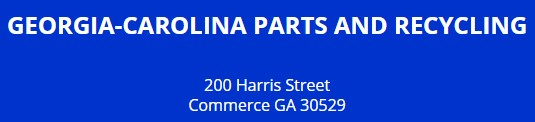 georgia-carolina parts and recycling