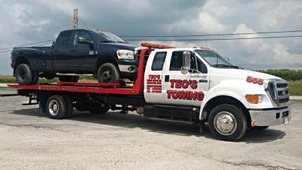 teos towing service, inc. - davenport