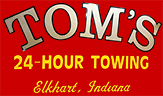 tom's 24 hour towing, inc.