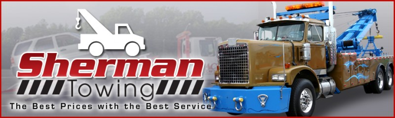 sherman towing services