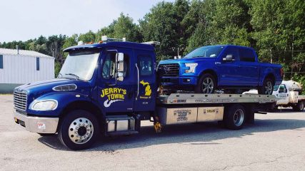 jerry's towing & recovery, inc. - white cloud