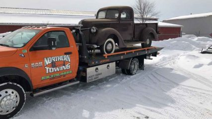 northern towing - cadillac